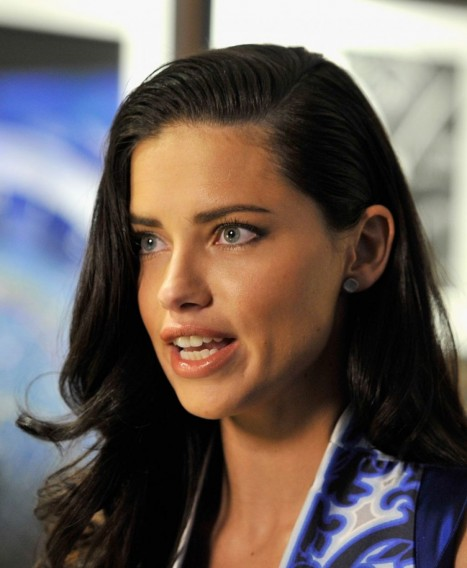 Adriana Lima At Iwc Schaffhausen Day January