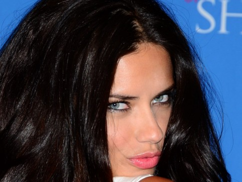 Adriana Lima Victorias Secret In Nyc