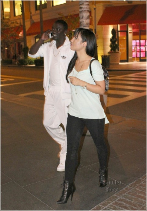 Akon And Date At The Grove Spl House