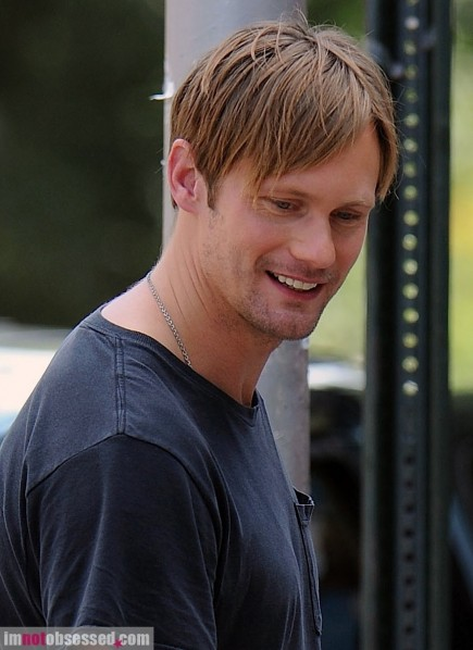 Alexander Skarsgard Films In Nyc