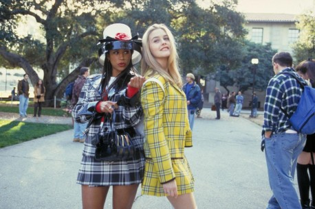 Still Of Alicia Silverstone And Stacey Dash In Clueless Large Picture Clueless