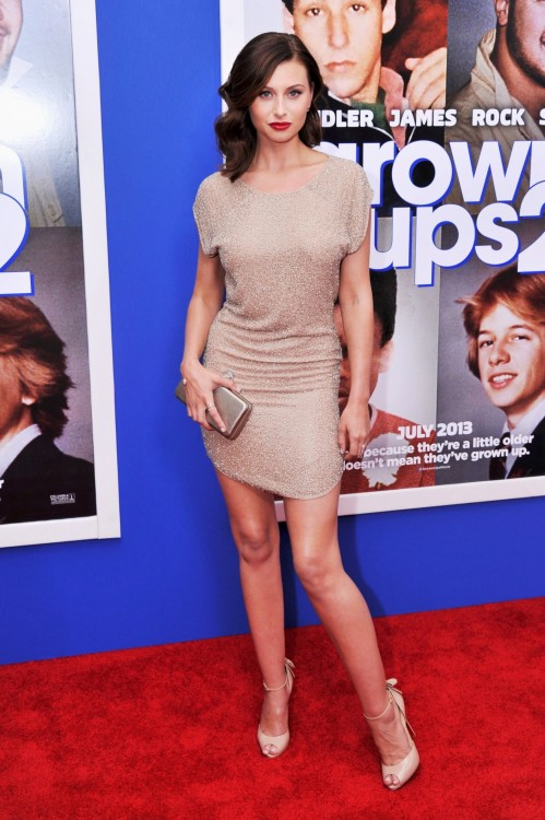 Aly Michalka Grown Ups Premiere In New York