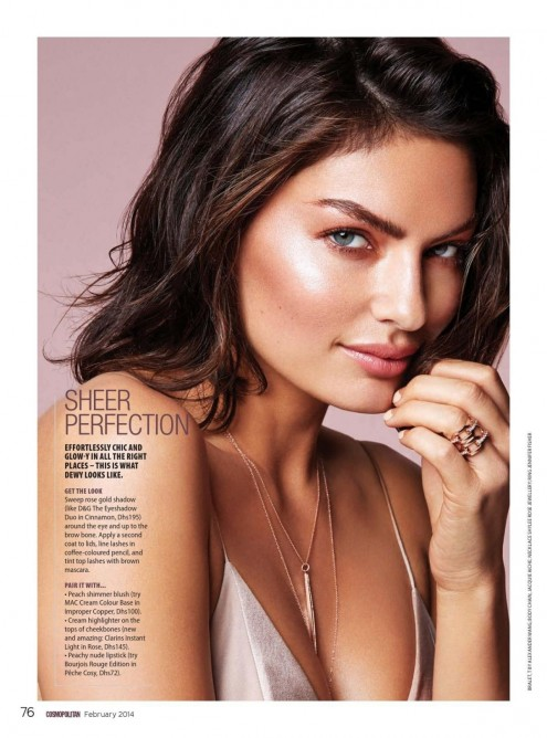 Alyssa Miller In Cosmopolitan Magazine Middle East February Issue