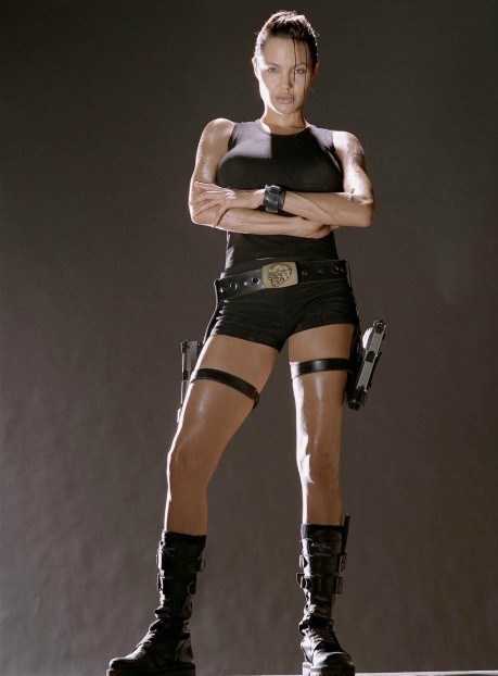 Angelina Jolie Tomb Raider Young