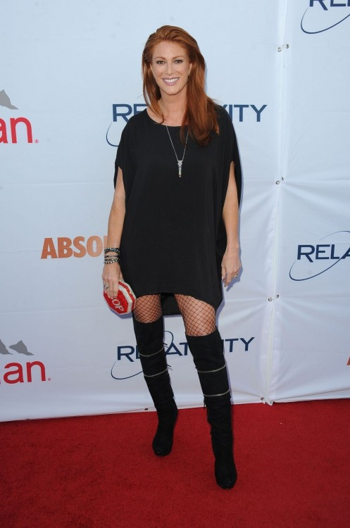 Angie Everhart At Pathway To The Cure Benefit Beach