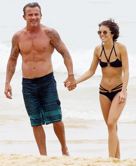 Annalynne Mccord Dominic Purcell Zoom Hot