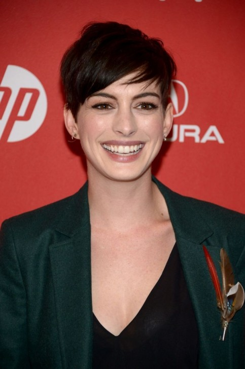 Anne Hathaway At Song One Premiere At Sundance Film Festival