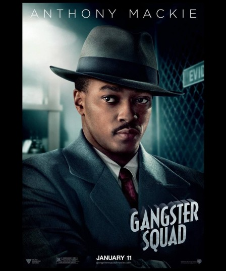 Anthony Mackie In Gangster Squad Wallpaper Other