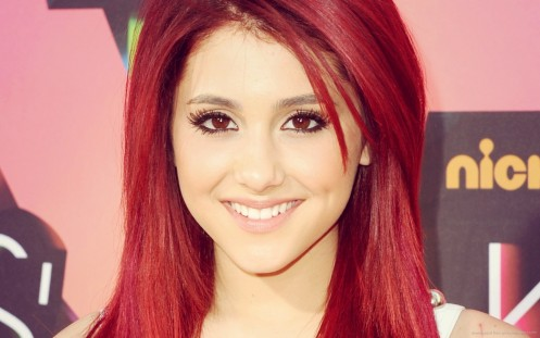 Ariana Grande Beautiful Red Hair Hd Wallpapers