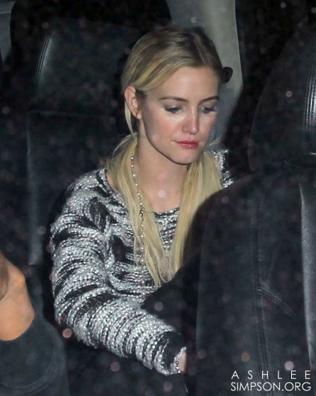 Ashlee Simpson Heading To Mr Chow In Beverly Hills