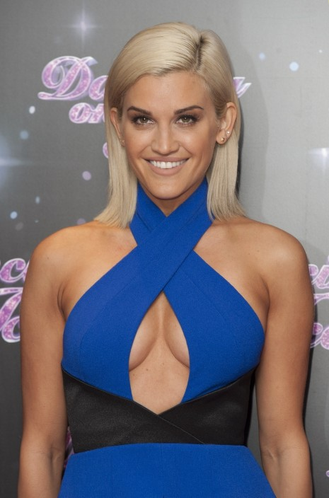 Ashley Roberts Dancing On Ice Photocall In London