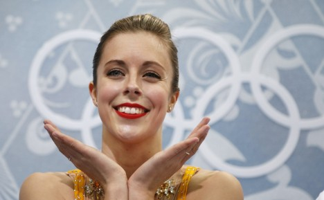 Ashley Wagner American Figure Skater At The Olympics In Sochi