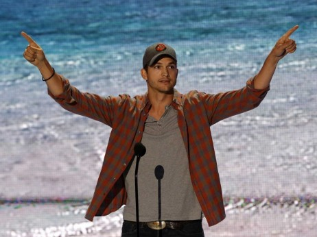 Ashton Kutcher Teen Choice