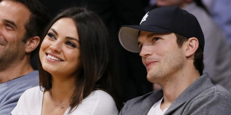 Mila Kunis Ashton Kutcher Facebook Movies
