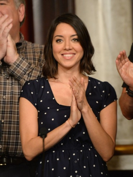 Aubrey Plaza At Parks And Recreation Th Episode Celebration In Studio City Parks And Recreation