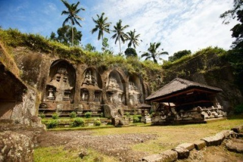 Beautiful Gunung Kawi Temple At Central Bali