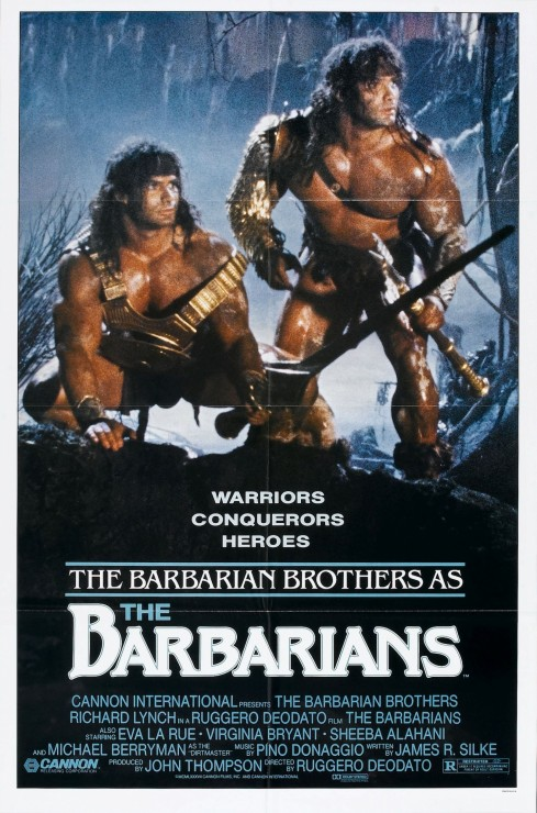 Barbarians Poster Movie