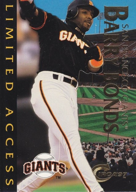 Fleer Circa Limited Access Barry Bonds Giants Mlm