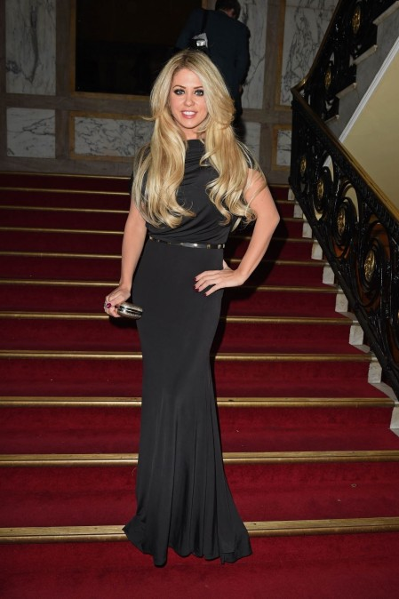 Bianca Gascoigne At National Reality Tv Awards In London