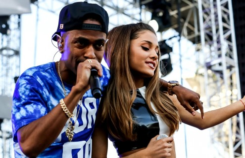 Ariana Grande And Big Sean Kissing Photos Confirmed They Are Dating Big Sean Plan To Put Ring On It And Ariana Grande Kissing