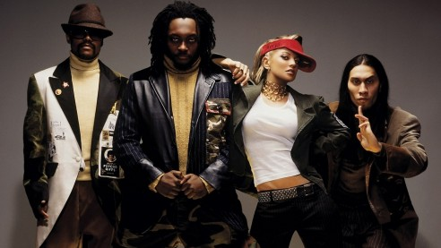 The Black Eyed Peas Clothes Look Glasses Band