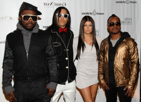 The Black Eyed Peas Ready For Action Wallpaper Photo