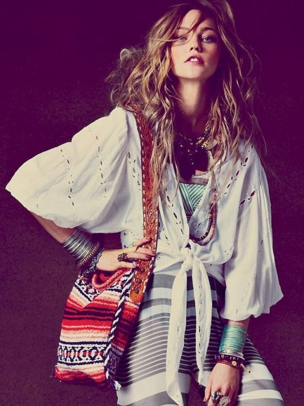 Bohemian Style Clothes Fashion