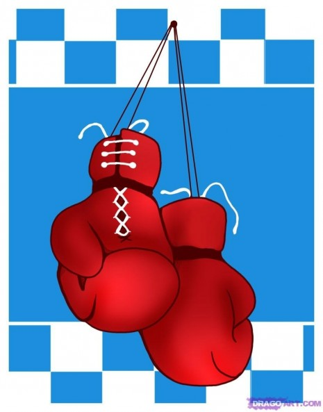 How To Draw Boxing Gloves Gloves