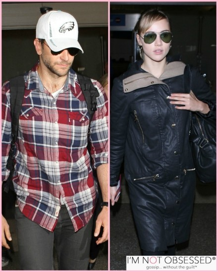 Bradley Cooper Suki Waterhouse At Lax