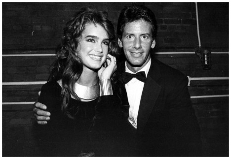 Brooke Shields And Calvin Klein At Studio Adam Scull Tate