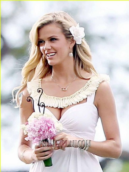 Discount Brooklyn Decker Short White Sweetheart Wedding Dress In Just Go With It Pga Just Go With It