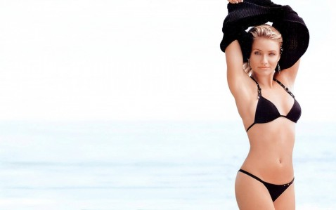 Cameron Diaz Beach