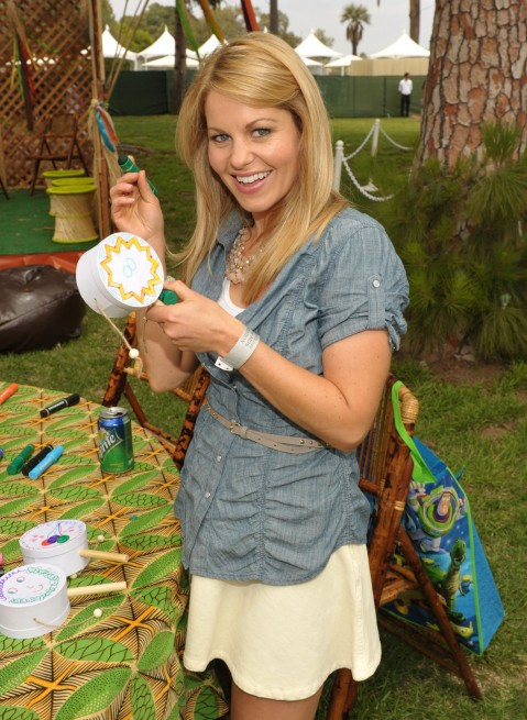 St Annual Time For Heroes Celebrity Picnic Candace Cameron Bure