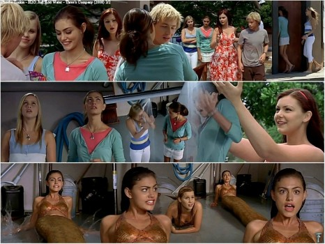 Just Add Water Three Company Cariba Heine And Phoebe Tonkin And Burgess Abernethy