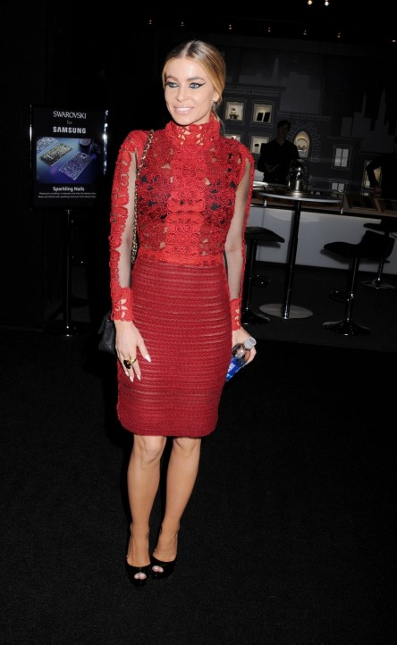 Carmen Electra At Vivienne Tam Fashion Show In New York Fashion