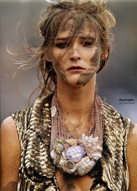 Carmen Kass By Hans Feurer For Numero