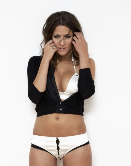 Caroline Flack At Alan Hobbs Photoshoot