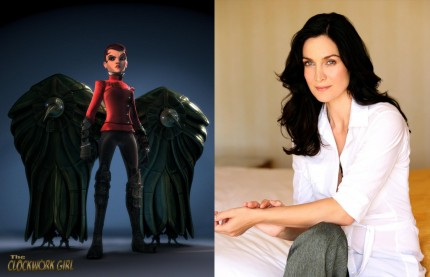 Carrie Anne Moss As Admiral Wells In Luximations