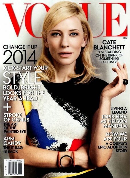 Cate Blanchett Vogue Cover Films