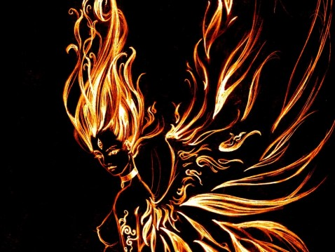 Spell To Control Fire Wallpaper