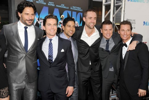 Matthew Mcconaughey Matt Bomer Joe Manganiello Adam Rodriguez Channing Tatum And Reid Carolin In Magic Mike Large Picture Magic Mike
