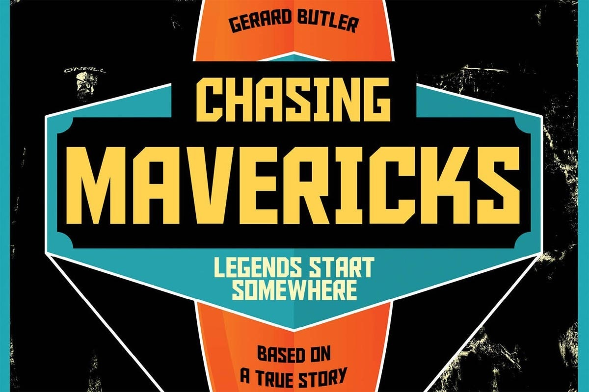 Official 'Chasing Mavericks' Poster.