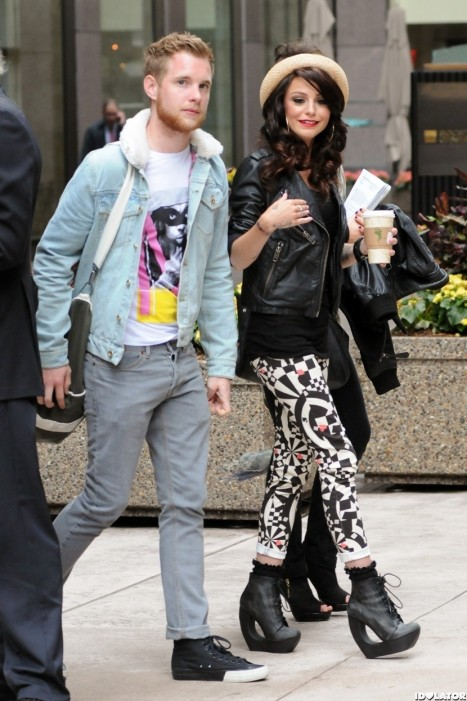 Cher Lloyd Lunch With Her Boyfriend In New York Boyfriend