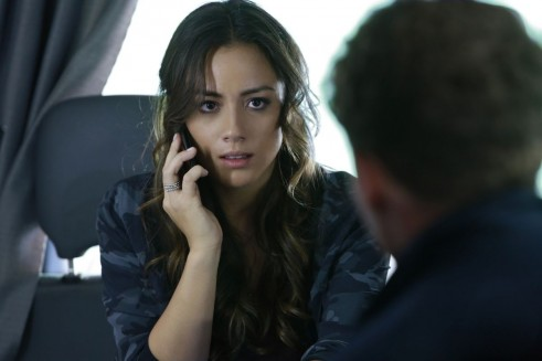 Chloe Bennet At Marvel Agents Of Shield Ep