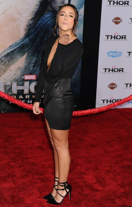 Chloe Bennet At Marvel Thor The Dark World Premiere In Hollywood