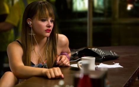 Chloe Moretz In The Equalizer Wide Beach