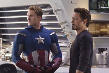 Avengers Movie Image Chris Evans Robert Downey Jr Movies