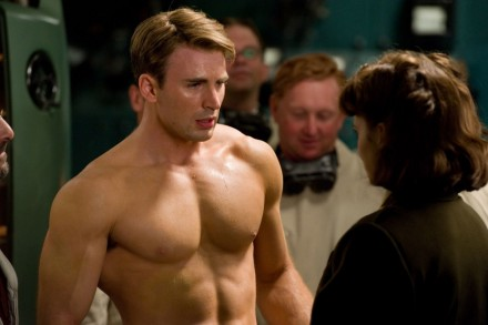 Chris In Captain America The First Avenger Chris Evans