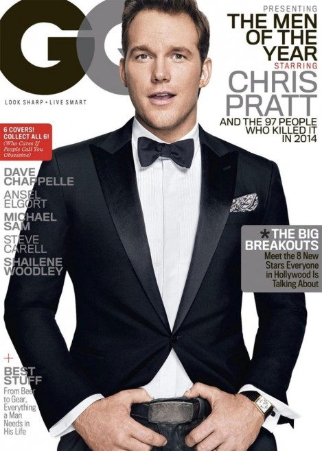 Chris Pratt Gq Magazine December Issue Tom Lorenzo Site Tlo