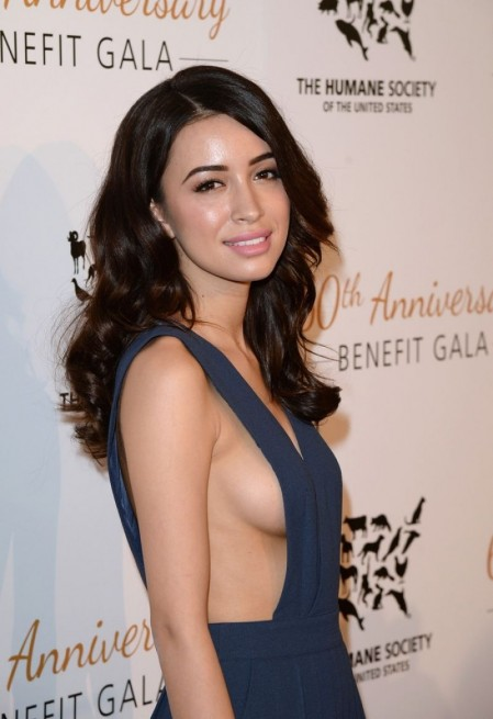 Christian Serratos At Humane Society Of The Us Th Anniversary Gala In Beverly Hills Movies